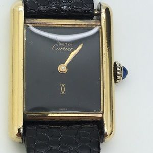Must De Cartier Paris 925 Swiss Watch